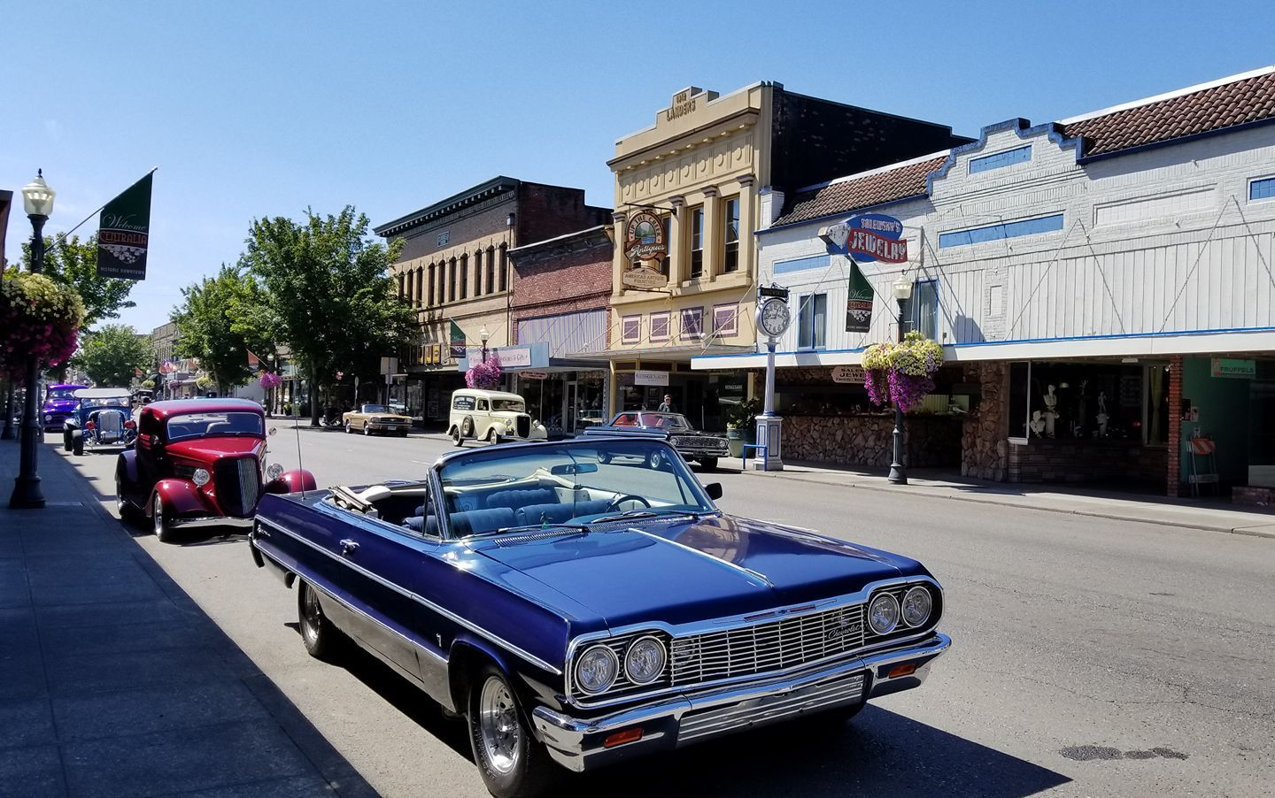 Welcome to historic downtown Centralia, Washington!